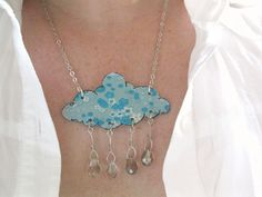 Hey, I found this really awesome Etsy listing at https://www.etsy.com/listing/94834903/cloud-shaped-powder-sky-blue-rain-shower
