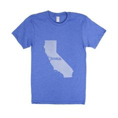 The California Home T-shirt is a great way to show your state pride while helping raise money for multiple sclerosis research. It's also insanely soft!
