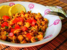 moja turecká kuchyňa: Muceddere (Pilav s orza a šošovice)