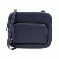 JOY SUSAN Navy Blue NEW Nicole Crossbody Handbag L8021-17