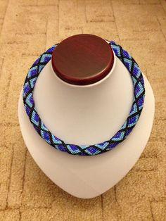 Crochet beads, háčkovaná dutinka