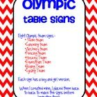 Eight Olympic team signs :• Swim team• Canoeing team• Archery team• Fencing team• Hockey Team• Equestrian Team• Boxing Team�...