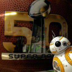 Last #SundayFunDay for a few parsecs!   #SuperBowl #SuperBowl50 #NFL #Panthers #Broncos #bb8 #bb8buddy  #sphero #bb8sphero  #starwars #theforceawakens by bb8buddy