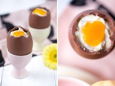 DIY Rezept: Löffelei selber machen // DIY recipe: filled chocolate egg via DaWanda.com