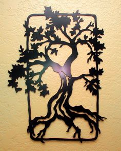 Oak Tree Wall Art. $40.00