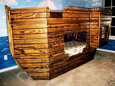 Pirate SHIP Theme Children's Bed