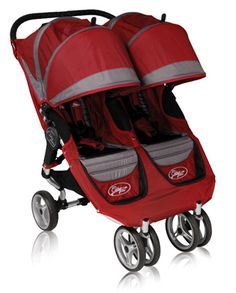City Mini Double Stroller by Baby Jogger-perfect for kids in the city. Folds up easily and quickly for train rides, etc.