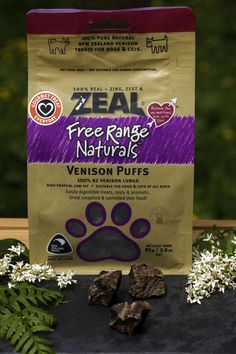 ZEAL® 100% Pure Natural pet treats are wholesome, trustworthy and traceable to source. We have on offer 21 varieties of delicious treats to choose from, 6 varieties of which cats love too. Our treats are handmade at our Auckland factory from premium New Zealand free range meats and wild caught seafood. Absolutely NO colourings, flavours, additives or preservatives are used in the manufacturing process. Treat your pet with a tasty and healthy source of nutrients.
