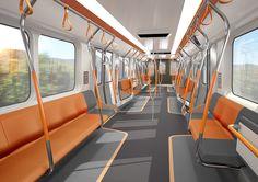 concept metro interior - Google Search