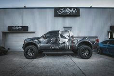 Punisher truck wrap