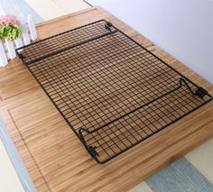 42*27CM Cooling  Racks  & Bread Coolers & Black Non-stick &Thickening of wire & retail