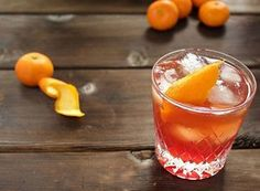 It's cold outside! Warm up with our twist on a classic negroni,  sign up for our news letter,  link in bio #campari #orange #cinnamon #warmup #cocktail #thesix #burbon #babyitscoldoutside