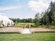 Luxurious Montana Wedding at Bootjack Farm