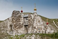On the banks of the Don River, in the picturesque Voronezh region of Russia lies one of the most fascinating tourist attractions this country has to offer - the SpasskyCave Church. For hundreds of years, this place has been at the mercy of the elements, then it had to face communist persecution, yet it still stands as a bastion of RussianChristianity.