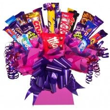Chocolate Bouquet Sweet Hampers, Leaving Gifts, Sweet Trees, Luxury Chocolate, Christmas Hamper, Work Gifts, Chocolate Bouquet, Candy Bouquet, Confectionery