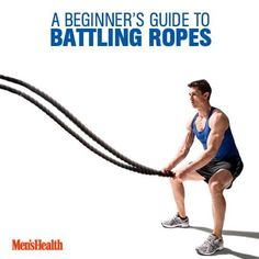 Your workout shouldn't be as rigid as a barbell. Make some waves to build more muscle.  http://www.menshealth.com/fitness/how-to-use-battling-ropes?cid=soc_pinterest_content-fitness_aug14_findbestworkout fitness motivation, #healthy #fitness #fitspo