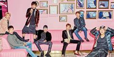 ASK K-POP MONSTA X pose for fun and colorful photoshoot with 'Cosmopolitan'