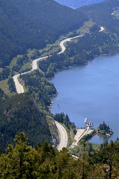 Sea to Sky Highway near Vancouver BC (photo from internet)