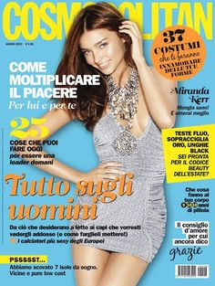 Miranda Kerr for Cosmopolitan Italy June 2012