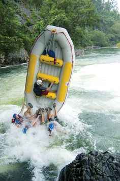 Raging Thunder - White Water Rafting on the Tully River, Australia..my point exactly...No Way!!! Not for ME 1