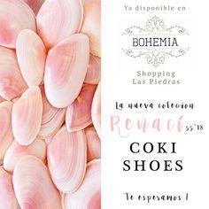 Nuestra nueva colección #Renací , primavera verano '18 ya está disponible en :: Bohemia :: Las Piedras Shopping 🙌🏻💕  // Ventas por mayor: cokishoesuy@gmail.com \\ #hotshoes #forsale #ilike #shoeslover #like4lik #shoes #niceshoes #sportshoes #hotshoes