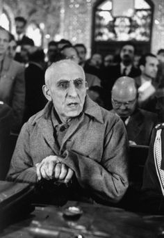 Day in court: Mohammad Mosaddeq on trial, November 1953.
