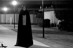 Writer/Director Ana Lily Amirpour's first feature A Girl Walks Home Alone at Night