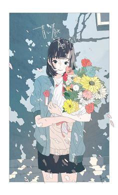 Find images and videos about anime, aesthetic and illustration on We Heart It - the app to get lost in what you love. Anime In, Anime Art Girl, Manga Art, Kawaii Anime, Anime Girl Short Hair, Anime Girls, Art And Illustration, Aesthetic Art, Aesthetic Anime
