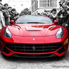 Awesome #Gumball3000 Ferrari F12 Berlinetta