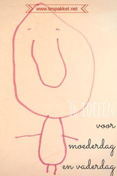 36 ideeën voor moederdag en vaderdag - jufBianca.nl