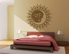 Sun and moon tribal