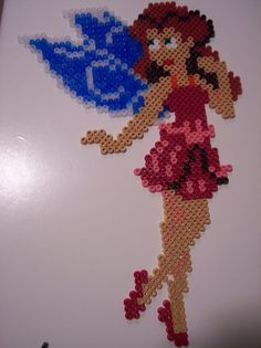 Rosetta - Disney Fairies hama beads by Juan José Prieto