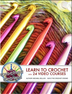 The Crochet Crowd.....awesome because i really want to learn how to crochet!