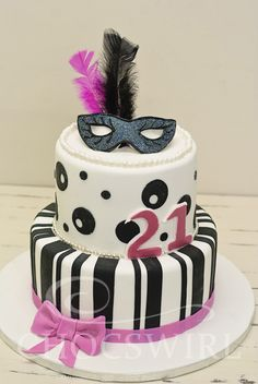 Masquerade Cake - Chocswirl Cakes