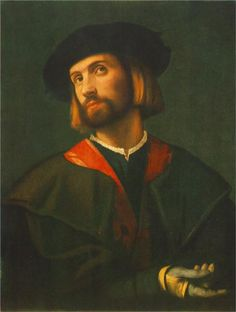 Portrait of a man - Lorenzo Lotto