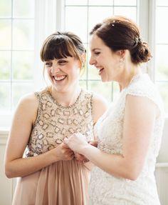 No.1 Jenny Packham bridesmaid dresses by Cat Lane Photography