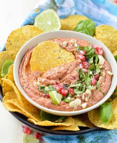 Roasted Red Pepper Bean Dip Recipe Easy to make