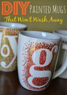 DIY Sharpie Mugs That Last Longer! #tipit #Home #Garden #Trusper #Tip
