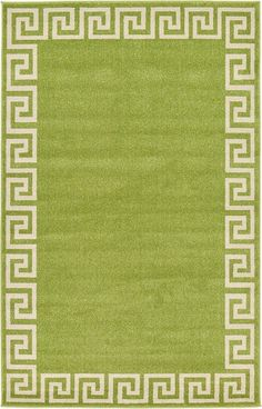 Athens Light Green Area Rug