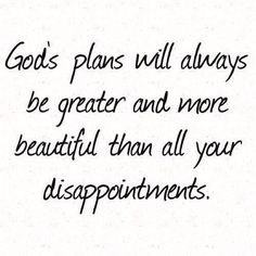 For I know the plans I have for you....