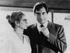 Ms. Moneypenny (Caroline Bliss) always had the hots for 007, especially when he's played by Timothy Dalton.