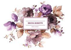 Bruma Buretti Branding | Fashion Flowers Vintage