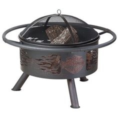 H-D® Bar & Shield Fire Pit at ACE Branded Products