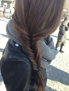 Loveeeeee fishtail braids!!!!!