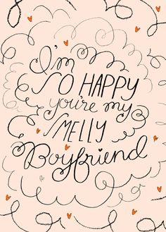 Smelly Boyfriend Valentine. $5.00, via Etsy.