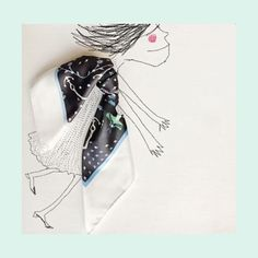 Martes Con la compra de un pañuelo Mediano en nuestra tienda online te regalamos un pañuelo xs  http://ift.tt/2mpKS2W #sofialapenta #inspiration #scarf #gift #fashion #fashiondesign #drawing #designed #ilustracion #illustration #surrealism #art #sketchbook #love #work #artwork #studio #painting