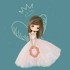 Find images and videos about cute, art and drawing on We Heart It - the app to get lost in what you love. Cute Girl Hd Wallpaper, Glitter Wallpaper, Princess Illustration, Illustration Art, Illustrations, Iphone Wallpaper Photography, We Heart It, Girly M, Cute Fairy