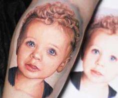 Child tattoo Dave Paulo