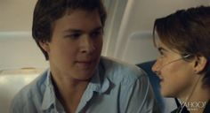 TFiOS -- The Fault in Our Stars Still -- Ansel Elgort -- Shailene Woodley