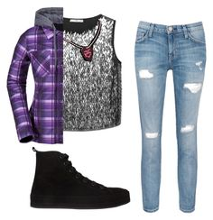 """""""Me Today (Kindaaa)"""" by wont-stop-loving-queen-rydel ❤ liked on Polyvore featuring moda, MANGO, Volcom, Current/Elliott i Ann Demeulemeester"""